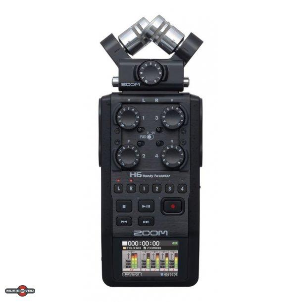 Zoom H6 Black Håndholdt recorder